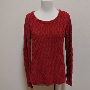 3/$25 Old Navy sweater red size S P P , SPP